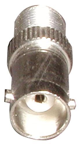 Adapter BNC - Złącze F (gniazdo/ gniazdo) standard,0
