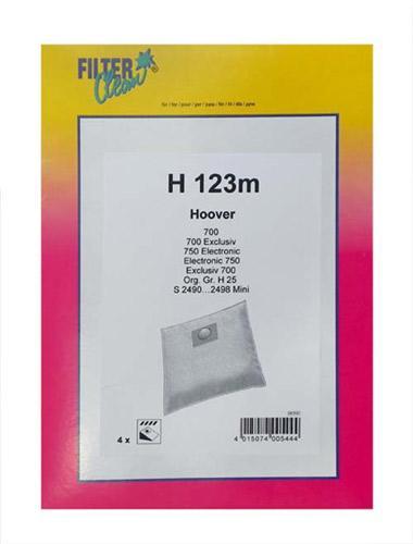 Worek do odkurzacza H123M 4szt. FL0080K,0