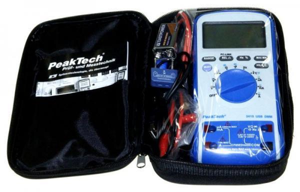 Multimetr   Miernik P3415 Peaktech,3