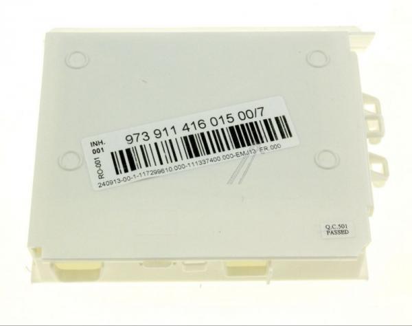 Moduł sterujący (w obudowie) skonfigurowany do zmywarki 973911416015007,0