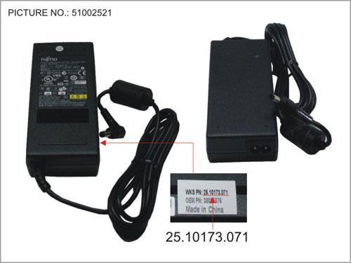 Ładowarka | Zasilacz 20V/4.5A/90W do laptopa Fujitsu WTS2510173071,0