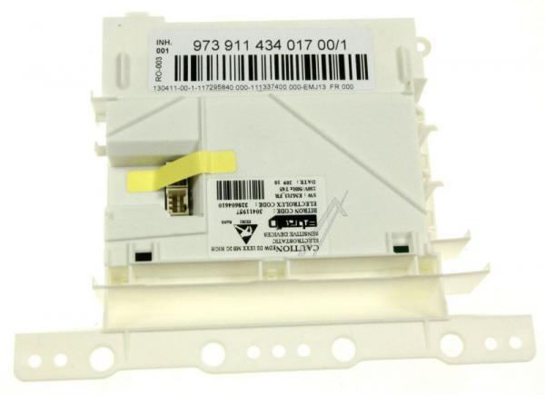 Moduł sterujący (w obudowie) skonfigurowany do zmywarki 973911434017001,0