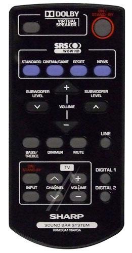 RRMCGA178AWSA Pilot SHARP,0