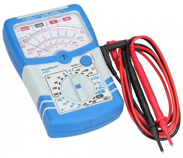 Miernik | Multimetr analogowy P3385 Peaktech,0