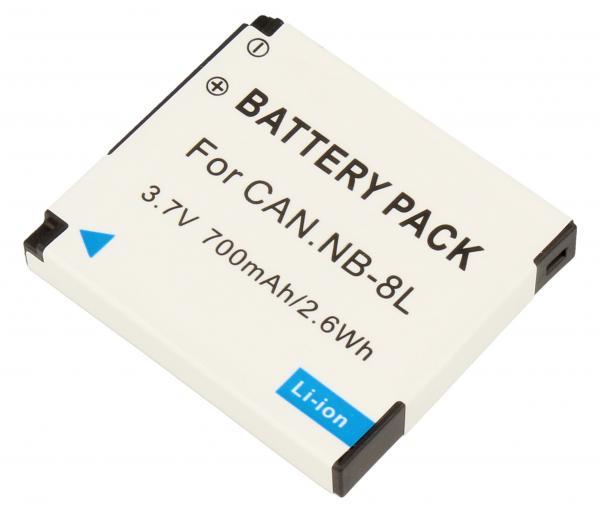 DIGCA37110 Bateria | Akumulator 3.7V 700mAh do kamery,0