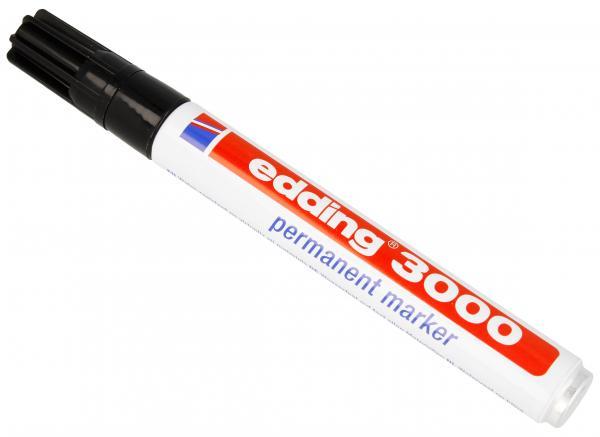 EDDING3000 1,5-3mm marker czarny,0