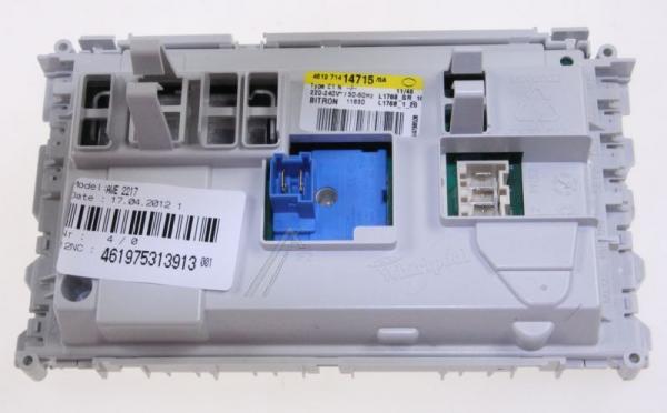 Moduł elektroniczny skonfigurowany do pralki 480111103613,0