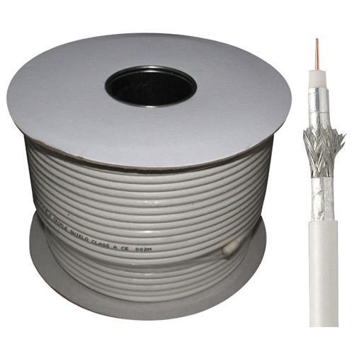 Kabel 100m koncentryczny 7.2mm 110db | (miedź/stal) standard,0