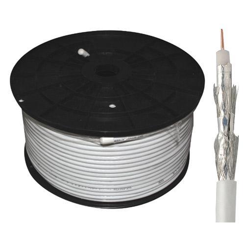 Kabel 100m koncentryczny 7.2mm 120db | (miedź) standard,0