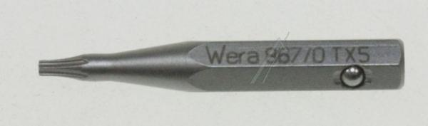 066248 8670ZTORX TORX-BIT                      867/0 Z TX 5 X 28 MM WERA,1