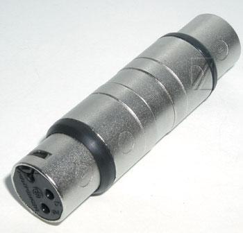 Łącznik XLR (gniazdo/ gniazdo) standard NA3FF,0