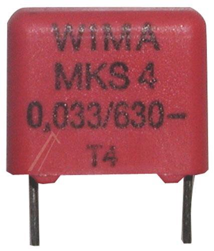 33nF | 630V Kondensator impulsowy MKS4 WIMA,0