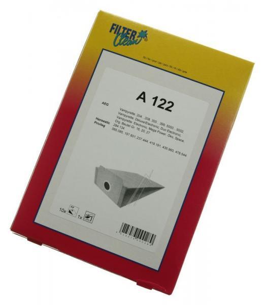 Worek do odkurzacza A122 Electrolux 10szt. (+2 filtry) 000039K,1