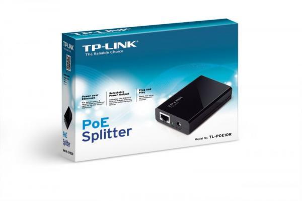 Rozdzielacz   Splitter PoE TP-Link TLPOE10R,3
