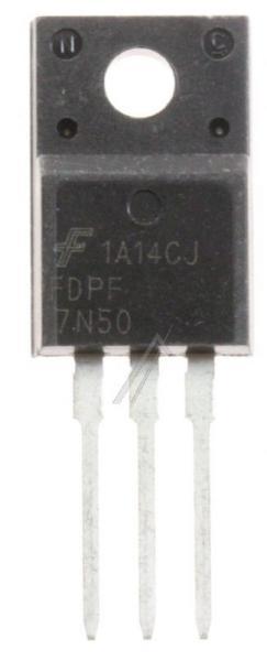 FDPF7N50U Tranzystor TO-220F (n-channel) 500V 5A 18MHz,0