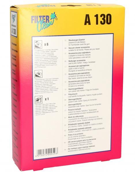 Worek do odkurzacza A130 AEG 6szt. (+filtr) 000139K,1
