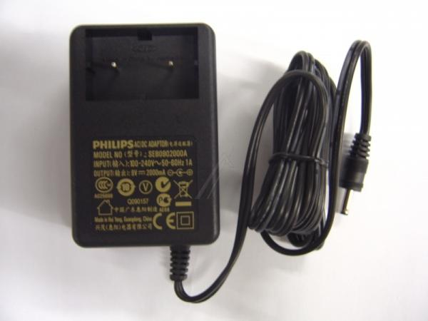 996510041236 AC ADAPTER 9V/2A VDE ERP2 PHILIPS,0