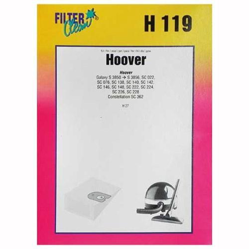 Worek do odkurzacza H119 Hoover 6szt. (+2 filtry) 000141K,0