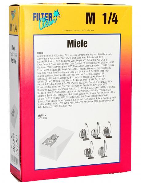 Worek do odkurzacza M1/M4 Miele 5szt. (+2 filtry),0