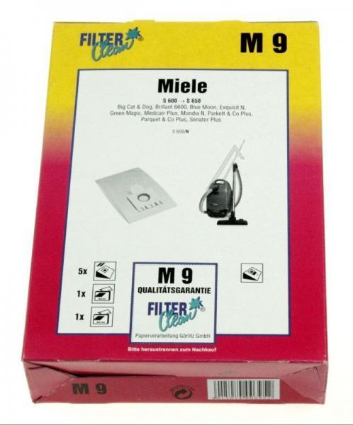 Worek do odkurzacza M9 Miele 5szt. (+2 filtry) 000228K,1