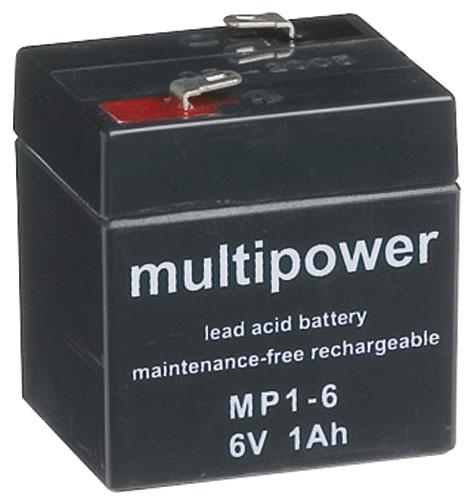 MP16 Akumulator UPS 6V 1000mAh Multipower (1szt.),0