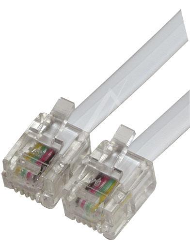 Kabel 6P4C 2m (wtyk/ wtyk),0