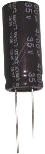 4700uF | 35V Kondensator elektrolityczny 105°C 48mm/18mm,0