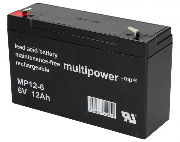 MP126 Akumulator UPS 6V 12000mAh Multipower (1szt.),0