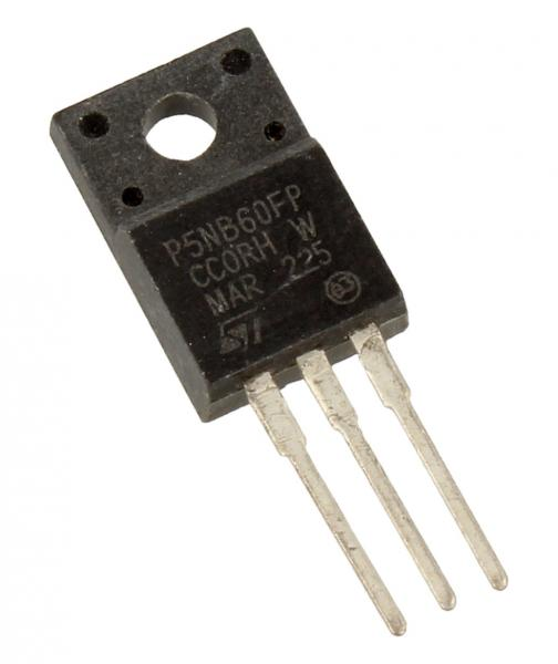P5NB60FP Tranzystor TO-220FP (n-channel) 600V 3A 5MHz,0