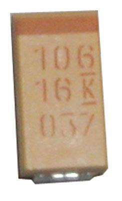 10uF/16V Kondensator tantalowy 2mm/,0