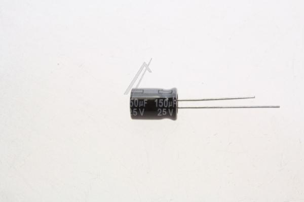 150uF | 25V Kondensator elektrolityczny 105°C 11mm/8mm,0