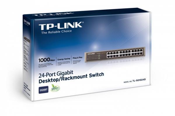 Switch LAN TP-Link TLSG1024D,3