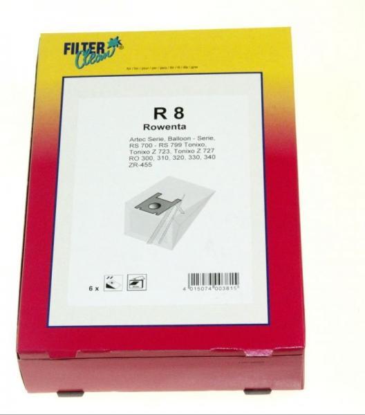 Worek do odkurzacza R8 Rowenta 6szt. (+filtr) 000180K,0