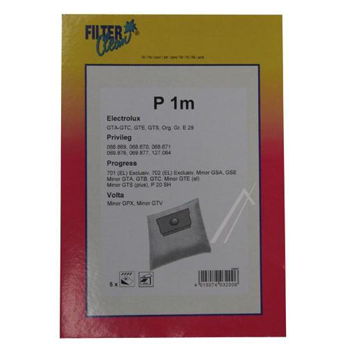 Worek do odkurzacza P1M 5szt. (+filtr) FL0085K,0