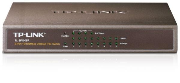 Switch LAN 8 portów TP-Link TLSF1008P,0