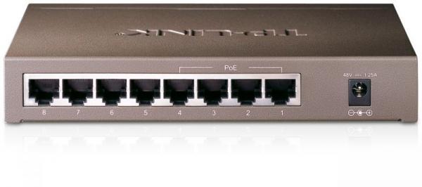 Switch LAN 8 portów TP-Link TLSF1008P,1