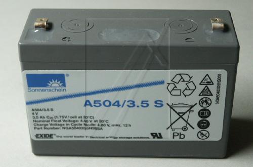 A50435S Akumulator UPS 4V 3500mAh Sonnenschein (1szt.),0