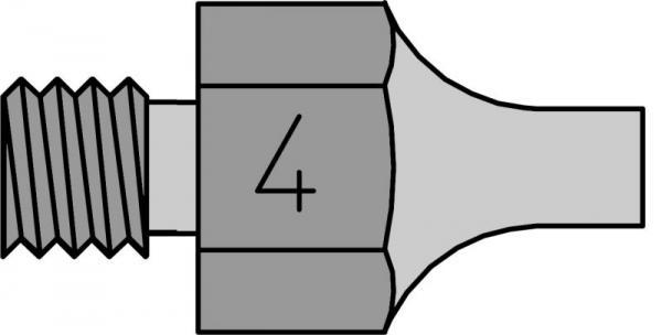 T0051351499 DS114 SAUGDÜSE 1,8MM-3,3MM LÄNGE 18MM WELLER,1