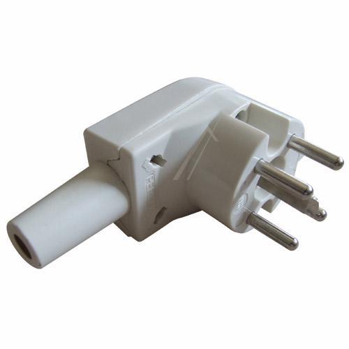 2407110 PERILEXSTECKER WINKELSTECKER 400V AC, 16A 5 POLIG WEISS,0