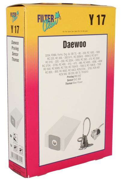 Worek do odkurzacza Y17 Daewoo 6szt. 000195K,0