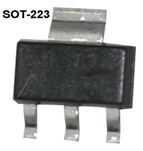 BCP52 Tranzystor SOT-223 (pnp) 60V 1.2A 150MHz,0