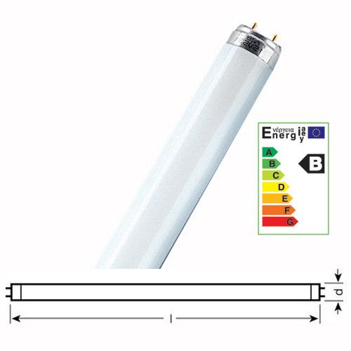 Świetlówka liniowa G13 15W Osram T8 Lumilux (biały zimny),0
