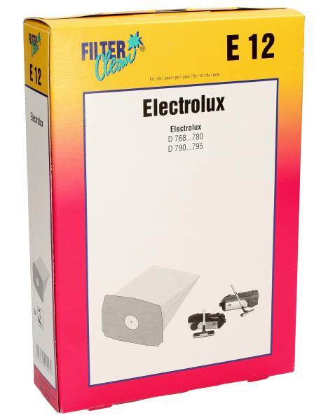 Worek do odkurzacza E12 Electrolux 5szt. 000261K,0