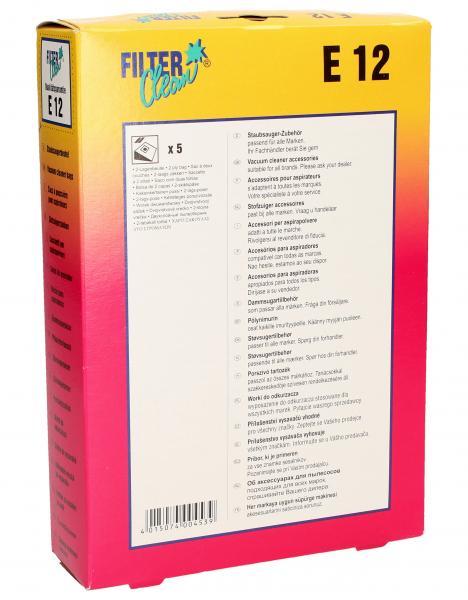 Worek do odkurzacza E12 Electrolux 5szt. 000261K,1