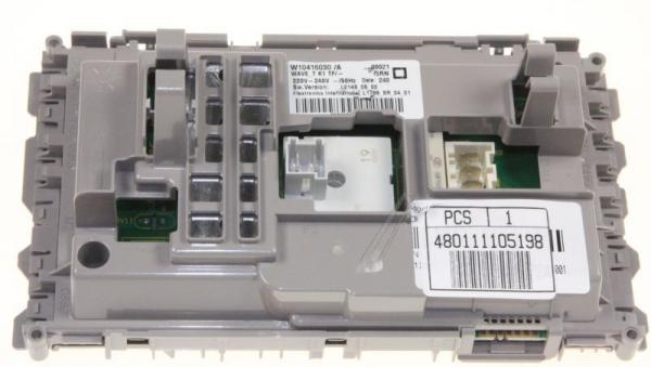 Moduł elektroniczny skonfigurowany do pralki 480111105198,0