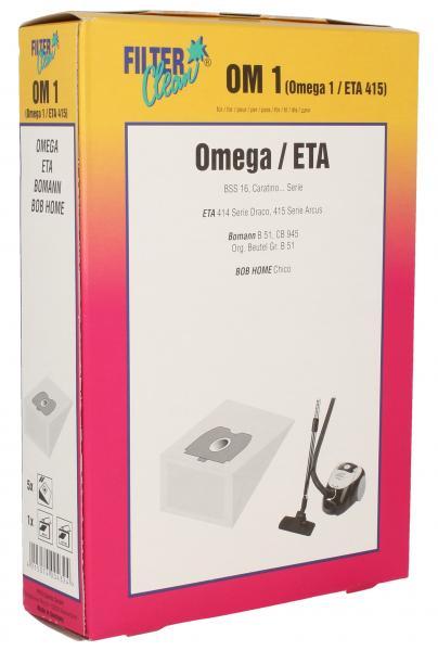 Worek do odkurzacza OMEGA1/ETA415 5szt. (+2 filtry) 000259K,0