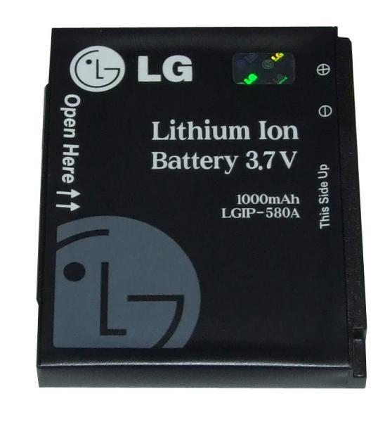 Akumulator | Bateria LGIP-580A 3.7V 1000mAh do smartfona SBPL0093804,0