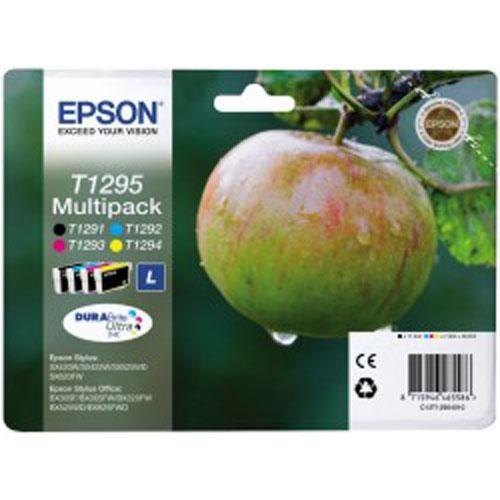 Multipack | Zestaw tuszy BK,C,M,Y cyan do drukarki  C13T12954010,0
