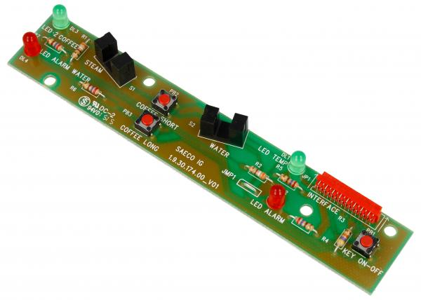 Płytka | Płytka sterujący przycisków panelu sterowania do ekspresu do kawy 996530007033,0