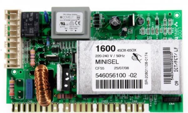 Moduł elektroniczny skonfigurowany do pralki 546056100,0